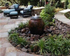 Outdoor Garden Water Features Rainwater Harvesting Systems Fountains Issaquah, WA